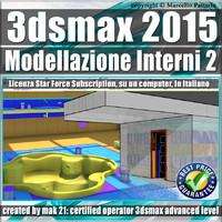 3ds max 2015 Modellazione Interni 2 satr force