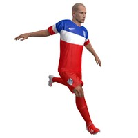 max rigged soccer player usa