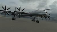 3d tu-95ms bomber