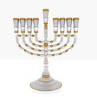 menorah 3d 3ds