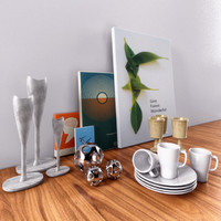 decorative objects 3d model