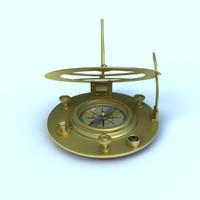 lwo sundial compass