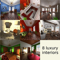 3ds max luxury manor