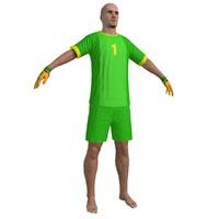 beach soccer 3d max