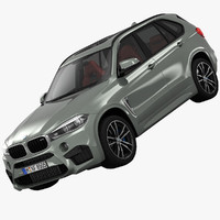 3d model of bmw x5 m crossover