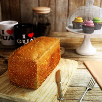 loaf bread 3d max
