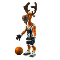 deer basketball max