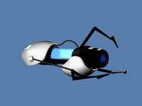 free portal gun 3d model