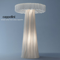 3d cappellini floor lamp model