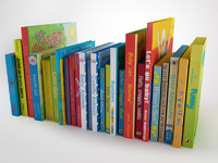 3d model children book 7