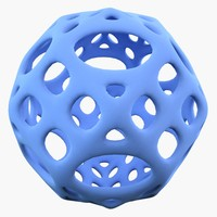 3d complex shape