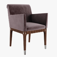 giorgio absolute armchair art 3d model