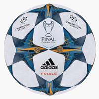 3d c4d champions league soccer ball