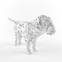 dog print 3d max