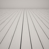 white floor 3d model