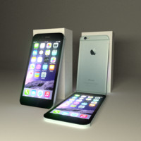 IPhone 6 Low Poly Model