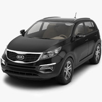 3d model of kia sportage