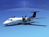 DeHavilland DHC-8-Q300 Air BC