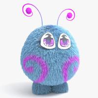 creature hermy 3d model