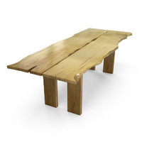 3d hudson lst dining table