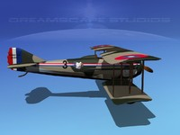 spad xiii xii fighters 3d 3ds