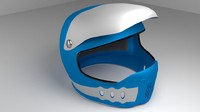 3d motorcycle helmet model