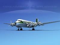 dxf propellers douglas dc-7 dc-7b