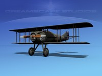 3ds max spad xiii xii fighters