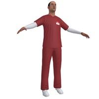 3d nurse paramedic
