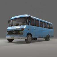 3d model mercedes middle