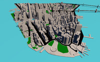 3ds max new york manhattan