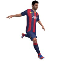 3d lionel messi soccer animations