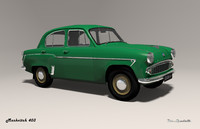 mzma 403 moskvitch 3d 3ds