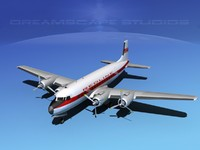 Douglas DC-7B Redline Air Cargo