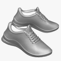 sneaker feet obj