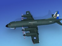 3d model orion lockheed p-3