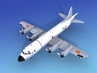 3d orion lockheed p-3 model