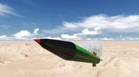 grad rocket 3d model