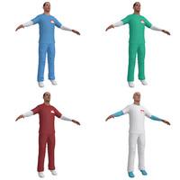 pack nurse 3d model