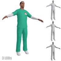 3d nurse 2 model