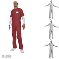 3d nurse 3 rigging