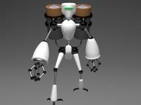 3d robot battery bot