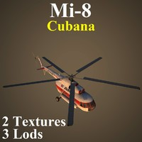 mil cub helicopter 3d model