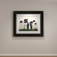 framed art distressed wood 3d 3ds