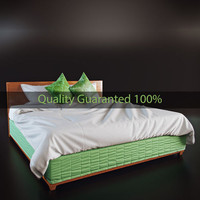 max bed cloth simulated