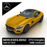 3d 2016 mercedes-benz amg gt