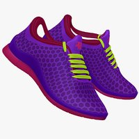 maya purple blue pink sneaker