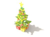 xmas tree 3d 3ds