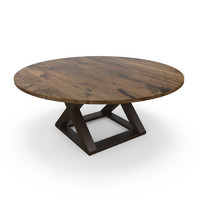 hudson x-base table 3d max