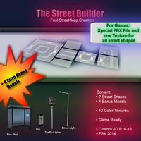 street-builder street c4d